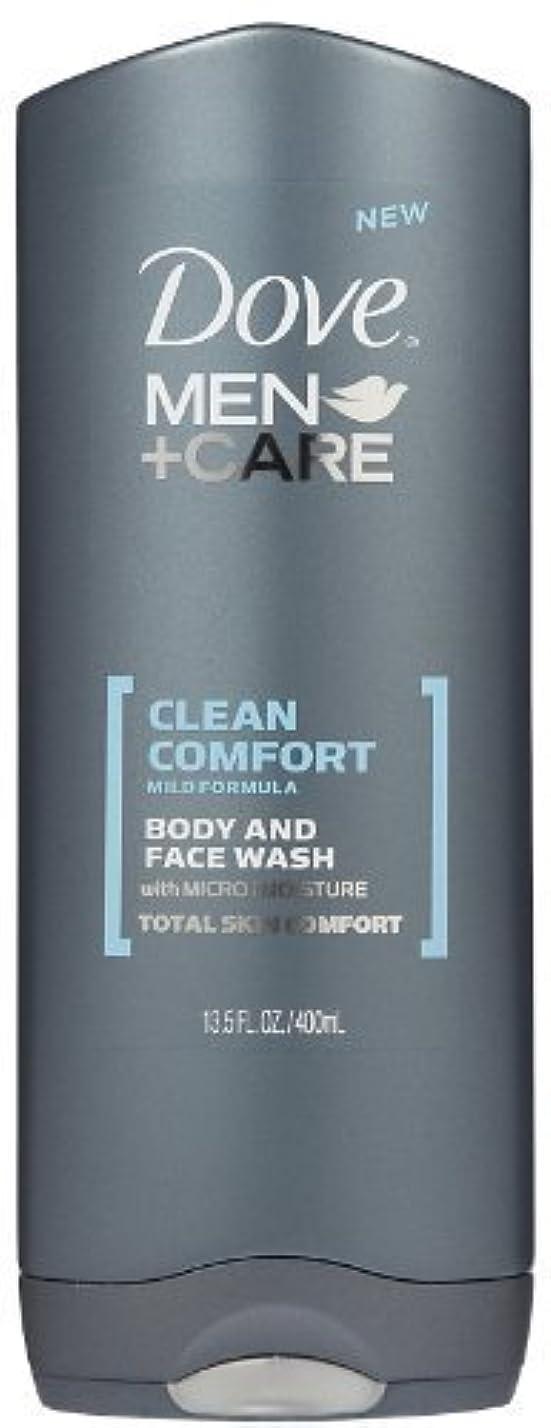 クレジット猫背衝突するDove Men +Care Body and Face Wash - Ultra Rich Velvet - 13.5 oz by Dove [並行輸入品]