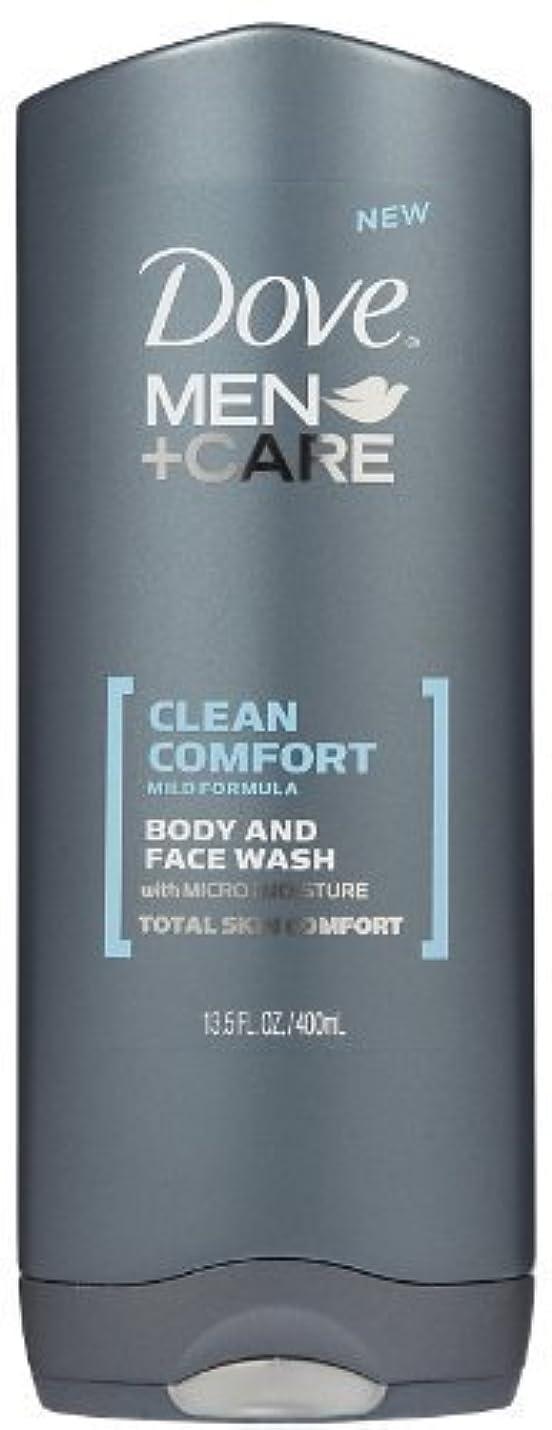 ドメインオレンジ大破Dove Men +Care Body and Face Wash - Ultra Rich Velvet - 13.5 oz by Dove [並行輸入品]