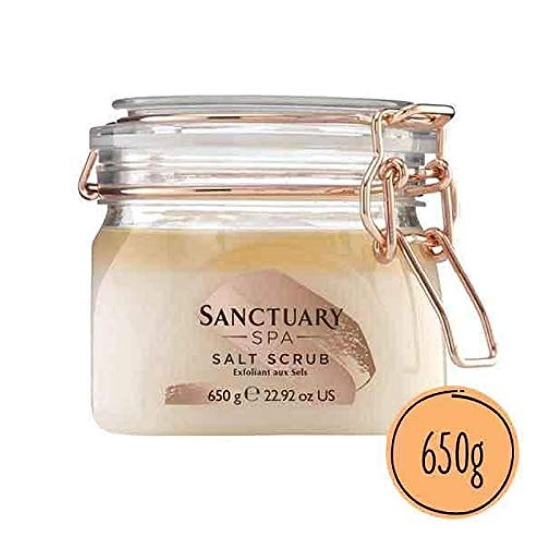 文化煙こしょう[Sanctuary Spa ] 聖域スパ古典的なソルトスクラブの650ミリリットル - Sanctuary Spa Classic Salt Scrub 650ml [並行輸入品]