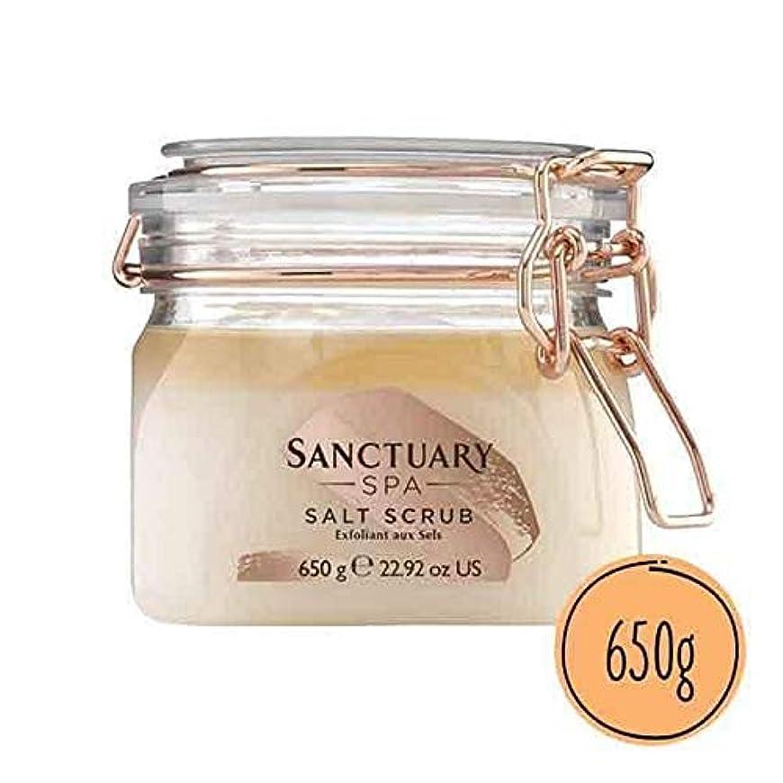 大事にするスポンジそれから[Sanctuary Spa ] 聖域スパ古典的なソルトスクラブの650ミリリットル - Sanctuary Spa Classic Salt Scrub 650ml [並行輸入品]