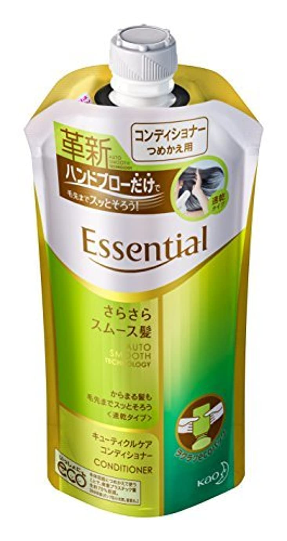 ずっと届ける社会科エッセンシャル コンディショナー さらさらスムース髪 つめかえ用 340ml Japan