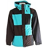 Volcom Mens Getty Jacket Teal Size Extra Large [並行輸入品]