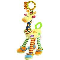 FOREAST キッズ ハンドベル ガラガラ おもちゃ ベビー ソフト フラシ天 おもちゃ 発達 幼児 誕生日 プレゼント