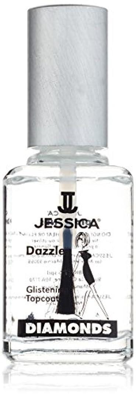 推論彫刻家それに応じてJESSICA Diamonds Dazzle Glistening Top Coat 14.8 ml