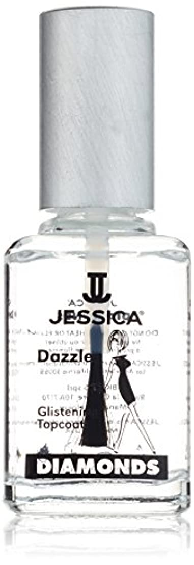 刈り取るサンダー一過性JESSICA Diamonds Dazzle Glistening Top Coat 14.8 ml