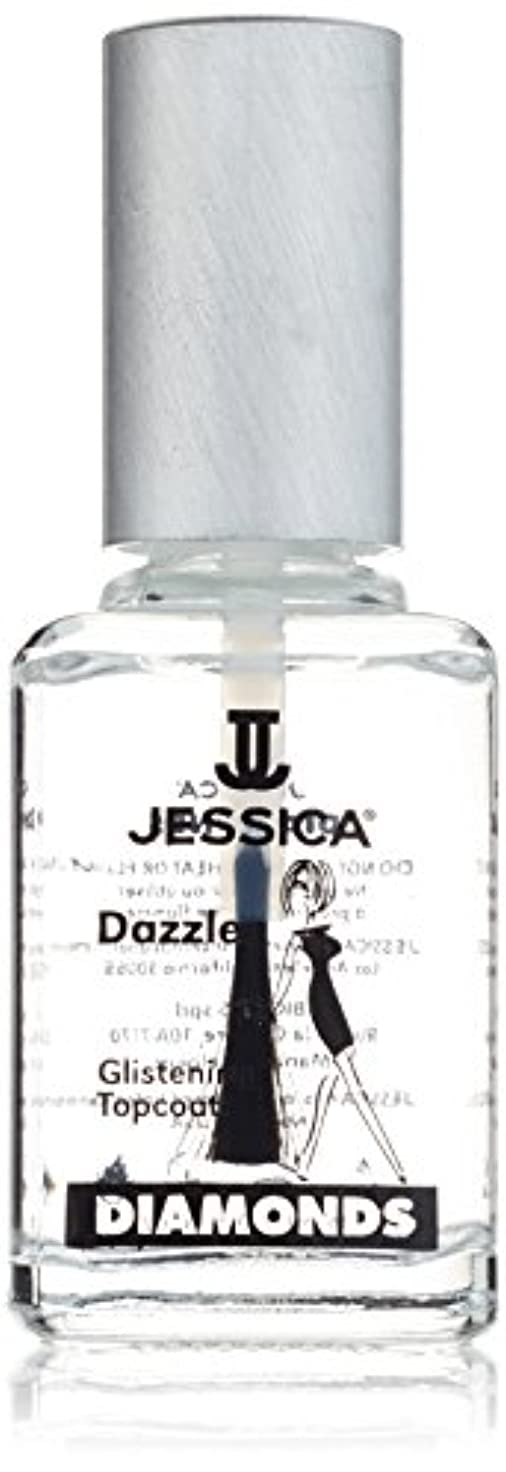 ズボン掻く仮定するJESSICA Diamonds Dazzle Glistening Top Coat 14.8 ml
