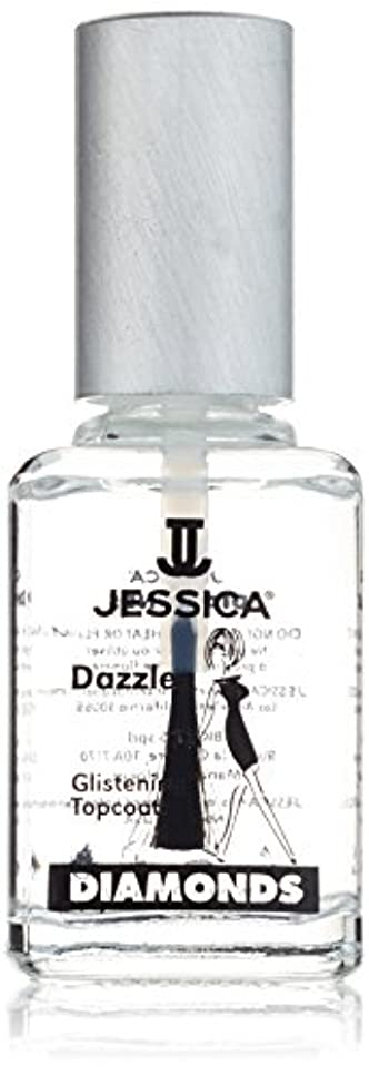 平衡アーティキュレーション道路を作るプロセスJESSICA Diamonds Dazzle Glistening Top Coat 14.8 ml