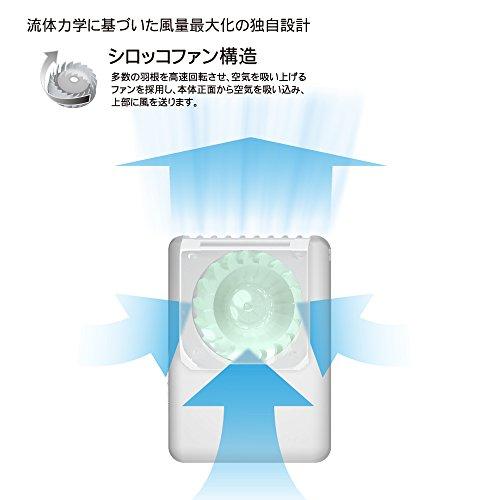 大作商事『首にかけるパーソナル扇風機マイファンモバイルMAGICOOL』