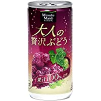 コカ・コーラ ミニッツメイド 大人の贅沢ぶどう 190ml 缶×12本