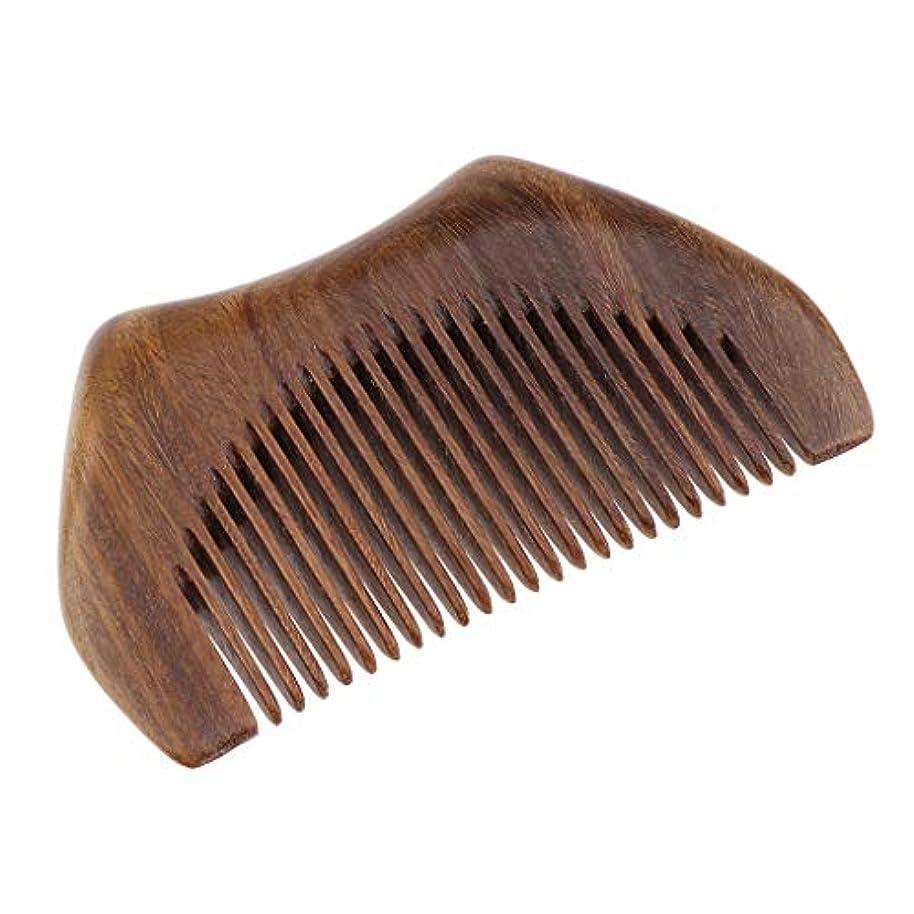 通貨効率奪うヘアコーム 木製櫛 ヘアブラシ ヘアスタイリング マッサージャー プレゼント