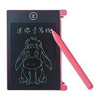Oral Dentistry LCDタブレット 電子パッド 電子描画ボード お絵描き メッセージボード 伝言板 黒板 省エネ 軽量 メモ/メッセージ/ノートパッド 2色 (ピンク)