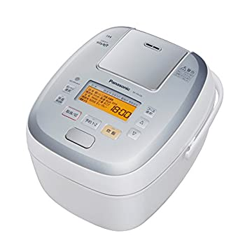 パナソニック 5.5合 炊飯器 圧力IH式 おどり炊き ホワイト SR-PA106-W