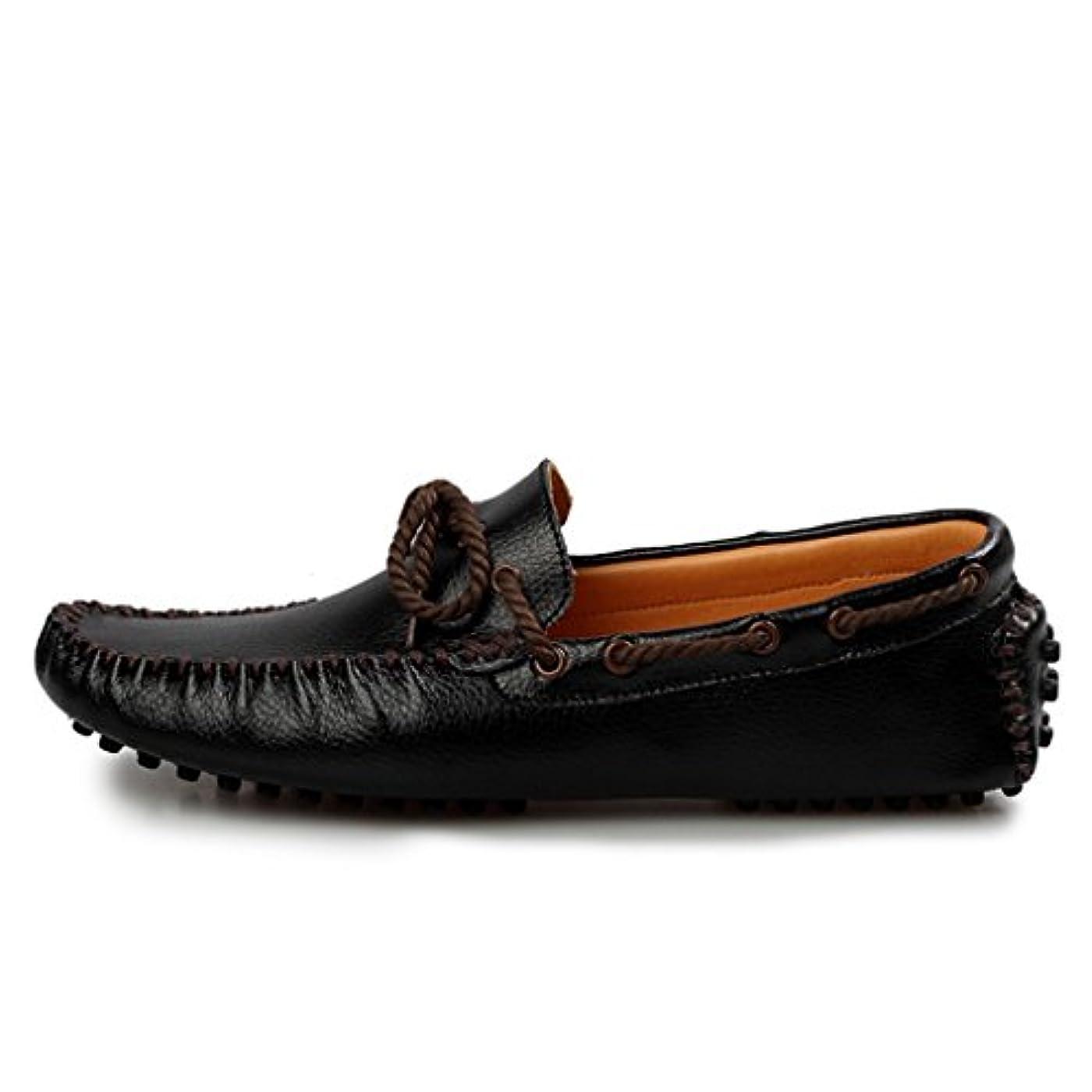 悲観主義者持参カビドライビングシューズ スリッポン メンズ 通勤  紳士靴 通気  軽い 滑りにくい おしゃれ デッキシューズ カジュアル イエロー?ブラック?ホワイト