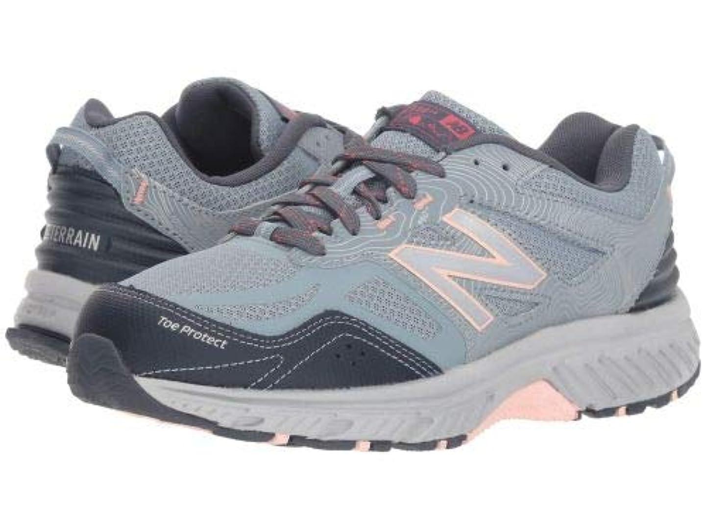 自我植物学者加害者New Balance(ニューバランス) レディース 女性用 シューズ 靴 スニーカー 運動靴 510v4 - Cyclone/Thunder/Himilayan Pink 8 D - Wide [並行輸入品]