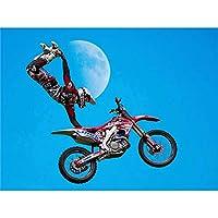 Motocross Bike Stunt Wall Art Print 自転車壁