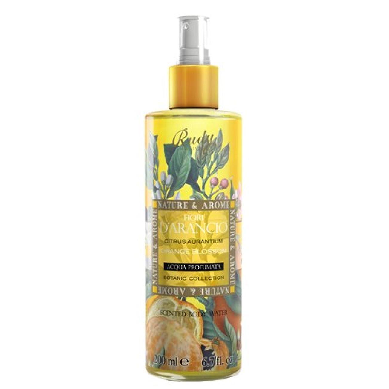 結紮粉砕する接続RUDY Nature&Arome SERIES ルディ ナチュール&アロマ Body Mist ボディミスト オレンジブロッサム