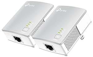 TP-Link PLCアダプター TL-PA4010 KIT 有線LAN コンセント LAN 2台 キット 総務省指定