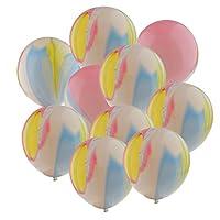 【ノーブランド 品】10個入り 塗料 着色 ラテックス ウェディング 誕生日 パーティー 装飾 バルーン 風船