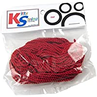 Kitty String FAT Yo-Yo String 10 pk - Red by Kitty String [並行輸入品]