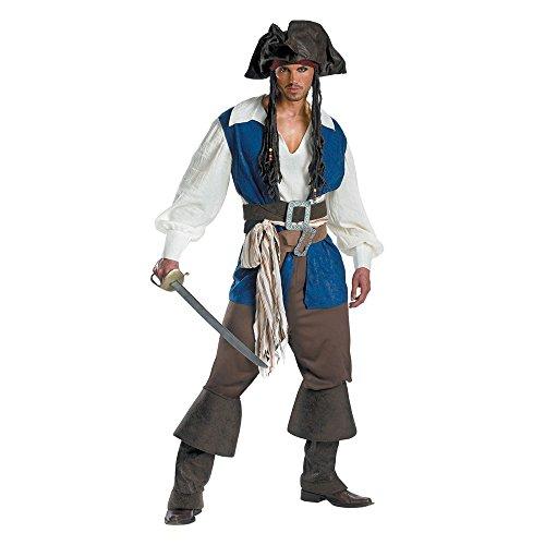 mrcos ハロウィン コスプレ 海賊 パイレーツ コスチューム オブカリビアン 大人用 海賊 コスプレ 仮装 メンズ XL