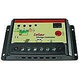 1stモール ソーラー パネル チャージコントローラー 12V 24V 10A ST-SOLA-COM1224