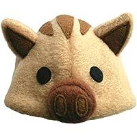 犬猫用コスプレ うり坊(猪)のかぶりもの(帽子) (M:27~33cm)