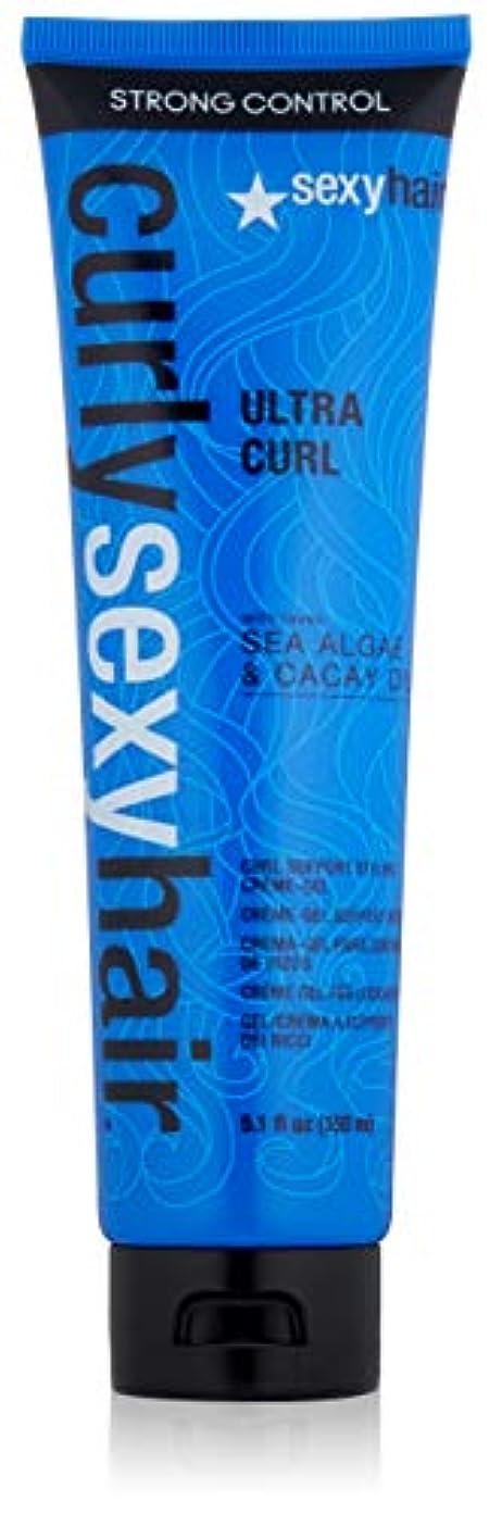 不道徳無効にするいろいろセクシーヘアコンセプト Curly Sexy Hair Ultra Curl Curl Support Styling Crème-Gel 150ml/5.1oz並行輸入品