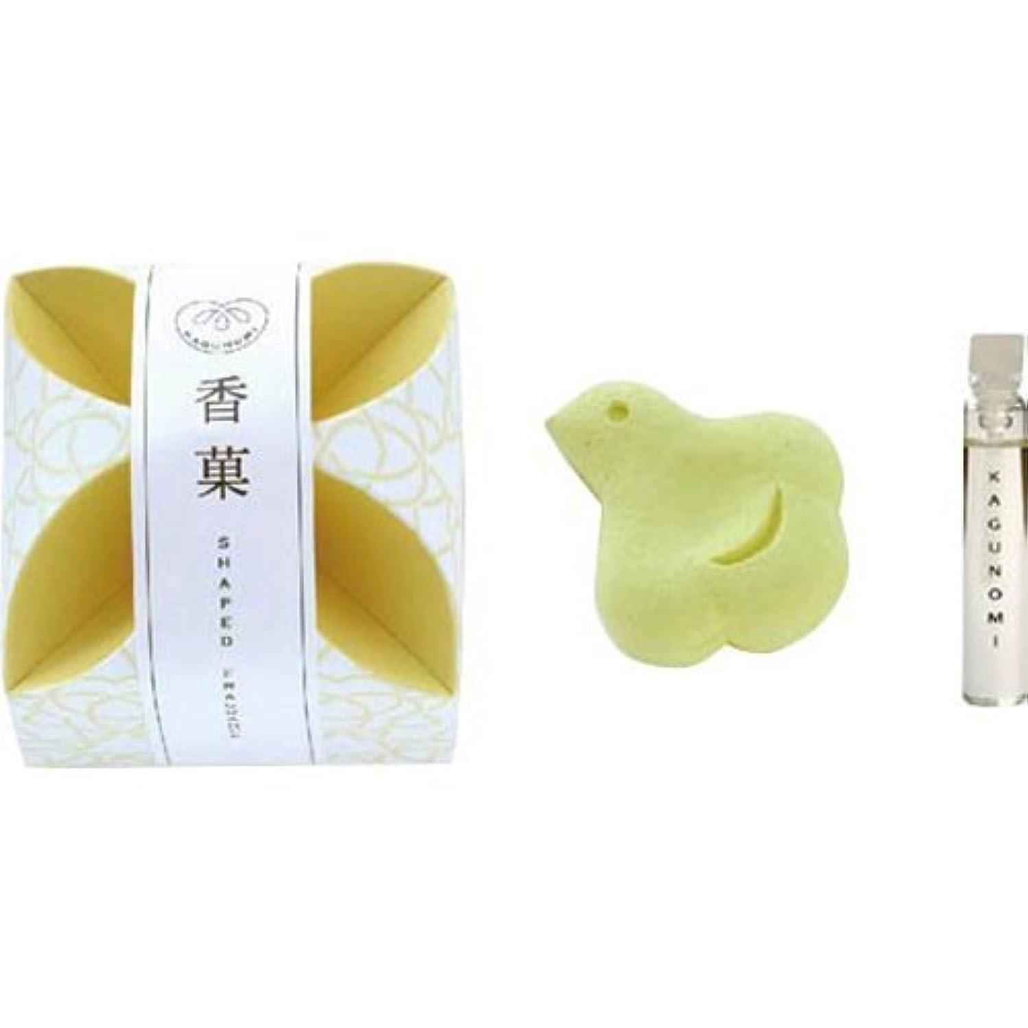揺れる熱望するスリップシューズ香菓 ちどり形(黄色)1入 オイル付