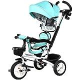 子供の三輪車プッシュ子供の三輪車は回転することができます