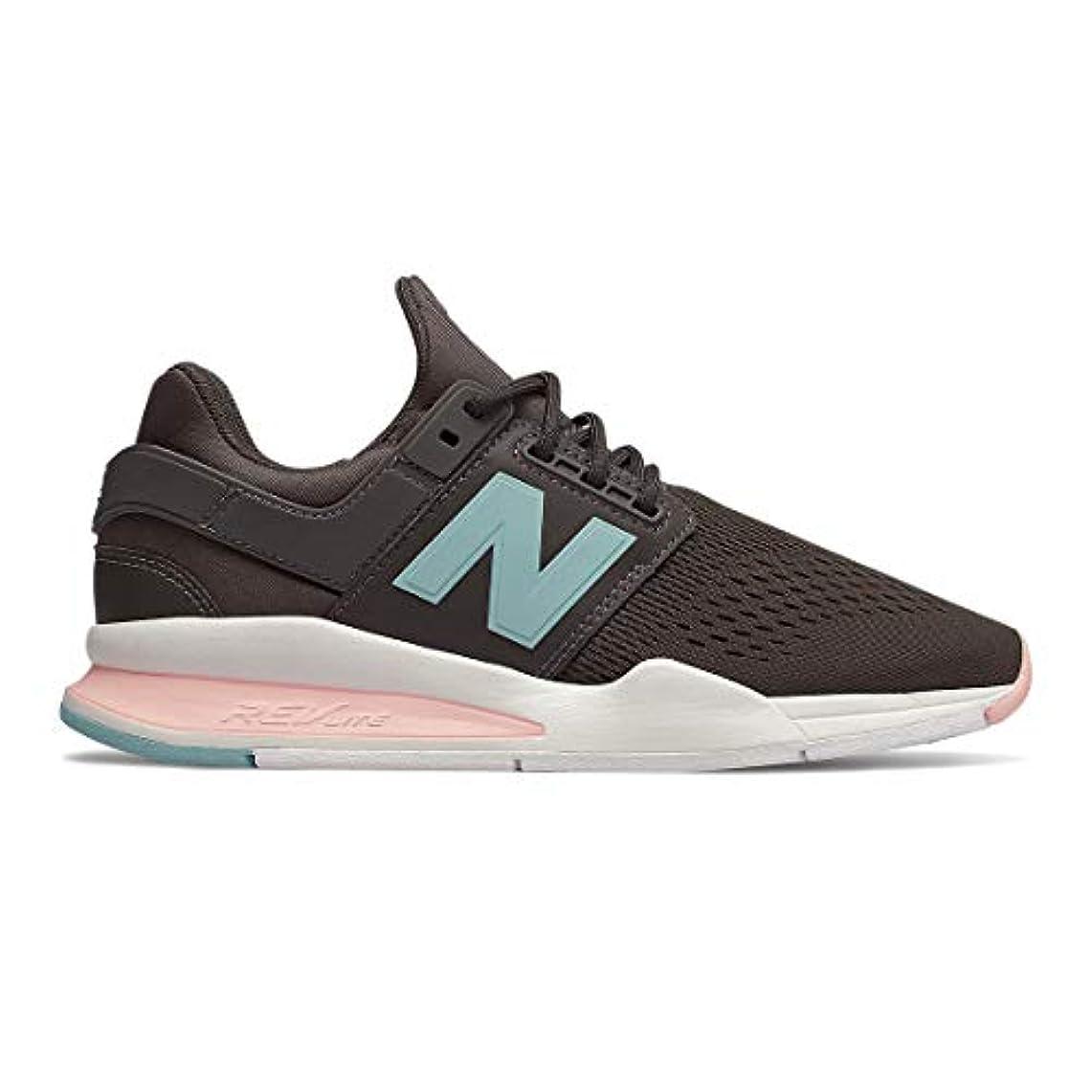 良心騙す有名人New Balance Classics(ニューバランス クラシック) レディース 女性用 シューズ 靴 スニーカー 運動靴 WS247v2 - Americano/Himalayan Pink [並行輸入品]