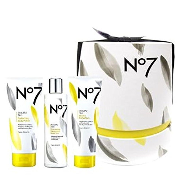 子豚時期尚早快適[No7] No7美しい肌至福のコアコレクションの贈り物 - No7 Beautiful Skin Pampering Core Collection Gift [並行輸入品]