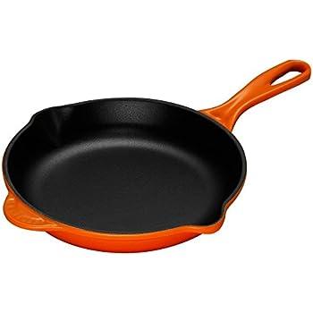 ルクルーゼ スキレット ホーロー フライパン IH 対応 20cm オレンジ 20124-20-09