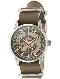 [ハンティングワールド]HUNTING WORLD 腕時計 スーブニール クォーツ カーキレザー GMT 5気圧防水 HW027KH メンズ 【正規輸入品】