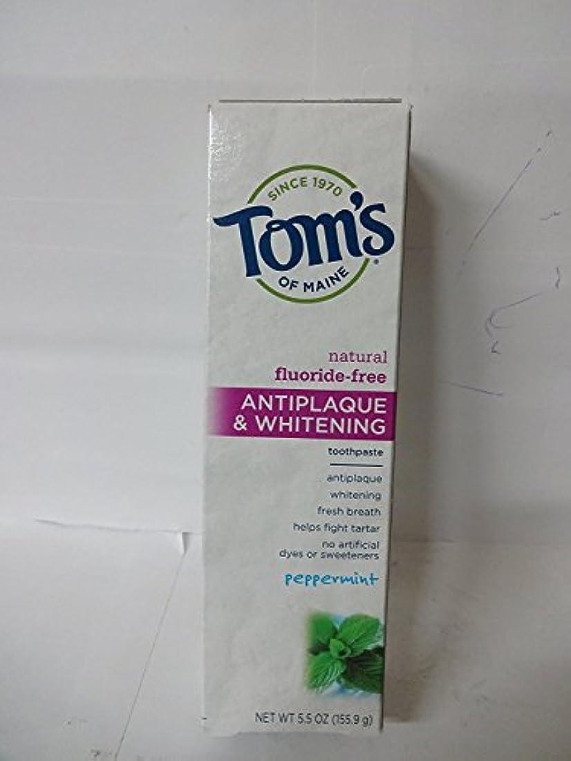 湿度スペシャリスト宣教師Antiplaque and Whitening Toothpaste 5.5