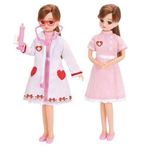 リカちゃん ドレス リカちゃん病院 おいしゃさんセット