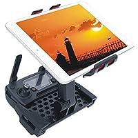 Hensych 4-12inch 携帯 タブレットホルダー リモコン拡張ホルダー マウントブラケット 360°回転 伸縮可能 ABSプラスチック製 スタンド for DJI Spark/ Mavic Pro Air アクセサリー---ブラックとレッド