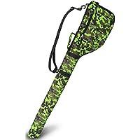 【 超軽量 大容量 コンパクト収納 】 EARTH LEAD ゴルフ クラブ ケース 最大7本収納可能 全9色 ファスナーポケット付き バッグ ソフト