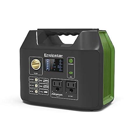 【停電対策】Enginstar 110000mAH/407Wh 大容量ポータブル電源 AC出力/液晶画面/純正弦波対応 20,500円送料無料!【本日最終日】