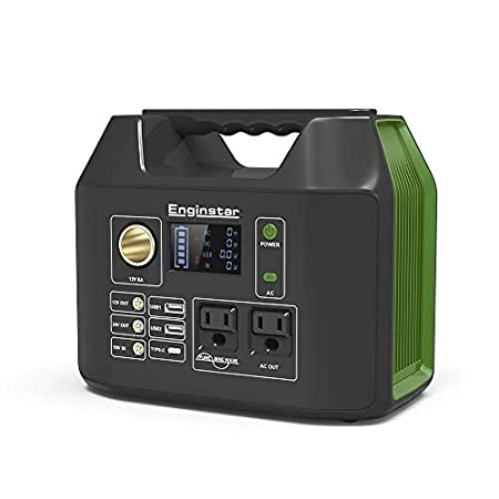 【本日最終日】Enginstar 110000mAH/407Wh 大容量ポータブル電源 AC出力/液晶画面/純正弦波対応 23,880円送料無料!【停電対策】