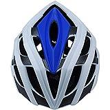 チャイルドバイクヘルメット - 幼児から青少年サイズまで調整可能、3?7歳 - 耐久性のある子供用自転車用ヘルメット - 安全性と快適性の認定を受けた - CSPC(55-61 cm) (Color : Blue)