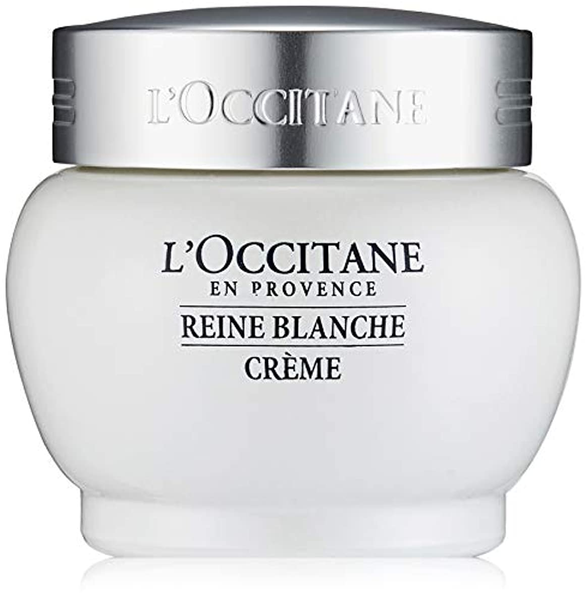 かりて是正するライフルロクシタン(L'OCCITANE) レーヌブランシュ ホワイトインフュージョンジェルクリーム 50ml