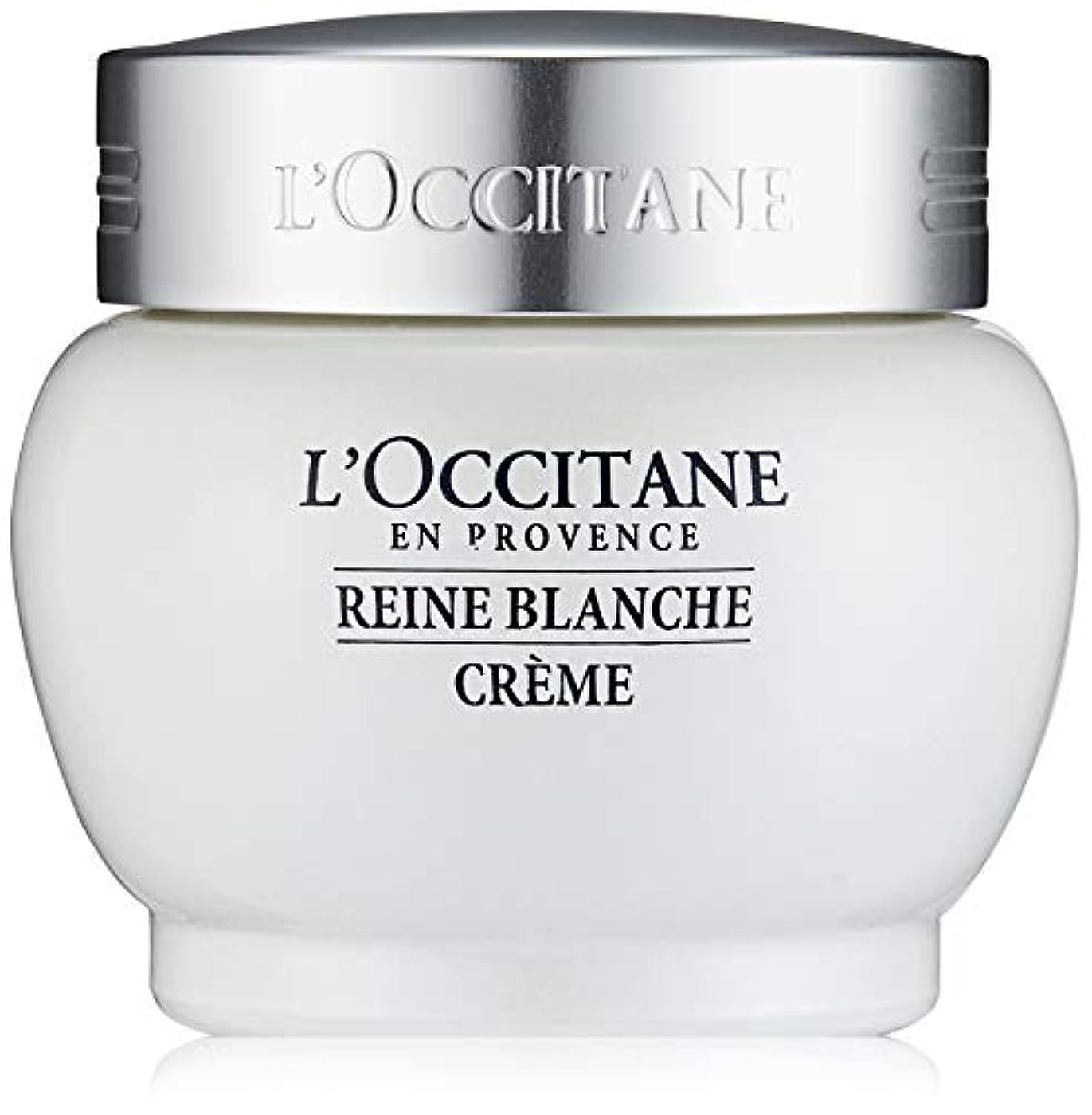 より多いキモい硬化するロクシタン(L'OCCITANE) レーヌブランシュ ホワイトインフュージョンジェルクリーム 50ml