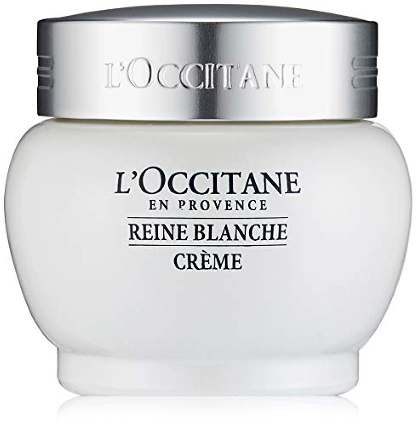 対追い払う合金ロクシタン(L'OCCITANE) レーヌブランシュ ホワイトインフュージョンジェルクリーム 50ml