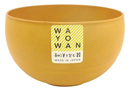 アサヒ興洋 WAYOWAN 手になじむうつわ マル型 小椀 メープル