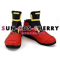 【サイズ選択可】コスプレ靴 ブーツ K-2857#コンパス 【戦闘摂理解析システム】 スプリンター 輝龍院きらら 男性27.5CM