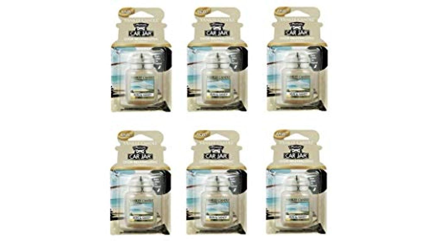 軽食振る舞う熟したヤンキーキャンドル YCネオカージャー K3230535 サン&サンド 6個入り