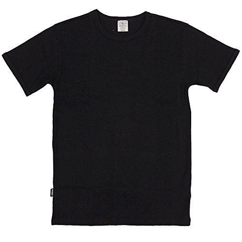 AVIREX デイリー クルーネックTシャツ #6143502(旧品番#617352)Lブラック