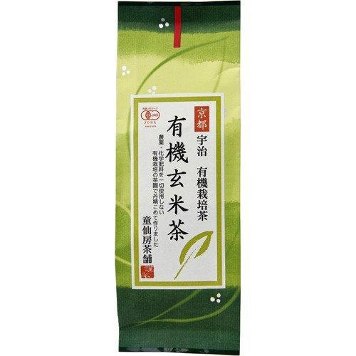 童仙房茶舗 有機玄米茶 120g ×6セット