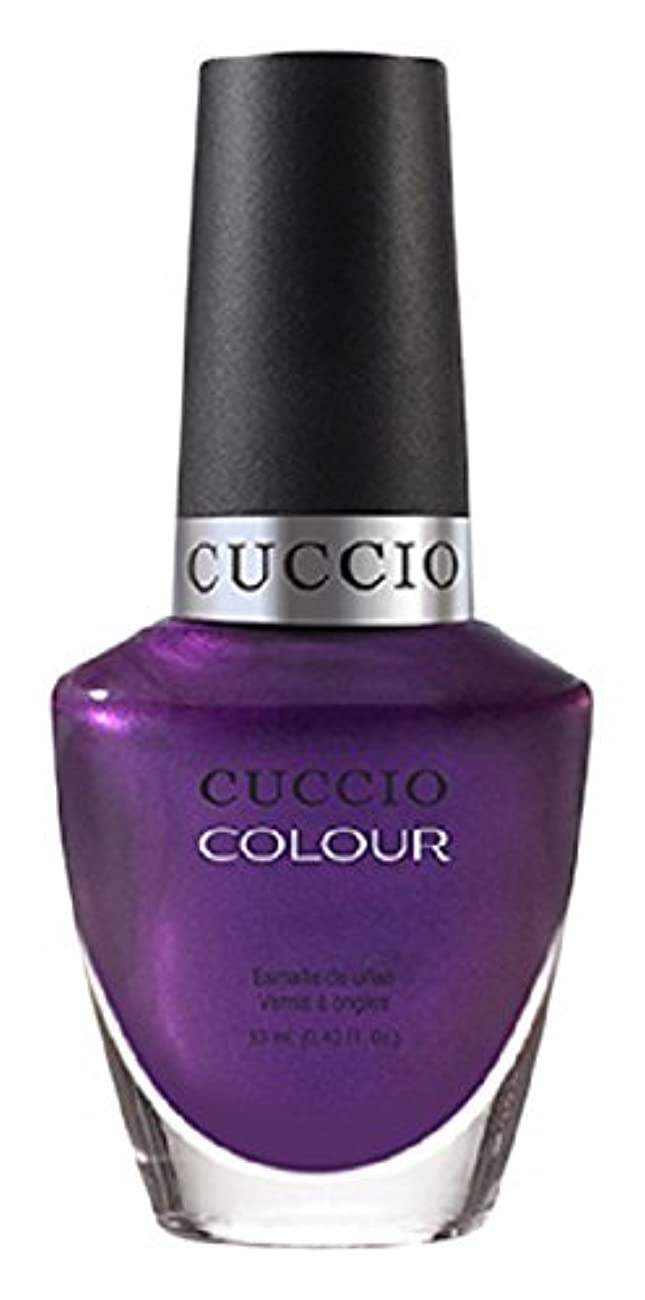 優雅な借りているはねかけるCuccio Colour Gloss Lacquer - Grape to See You - 0.43oz/13ml