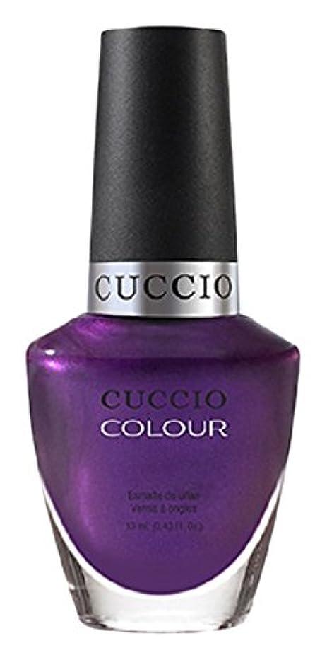 プール売上高放送Cuccio Colour Gloss Lacquer - Grape to See You - 0.43oz/13ml
